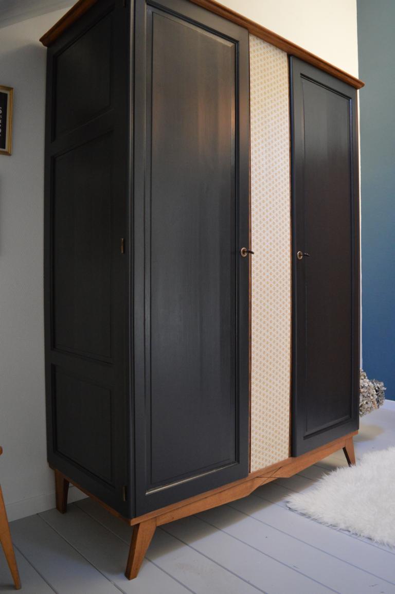 Armoire Vintage Alice 4 En 2020 Mobilier De Salon Meuble Vintage Relooking Armoire