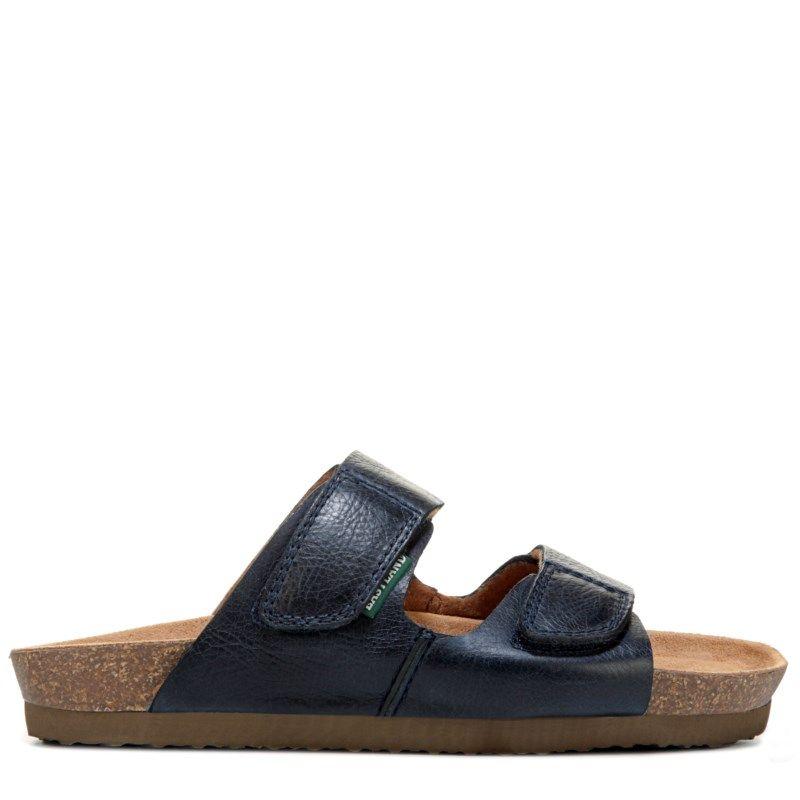 Eastland Women's Celeste Memory Foam Footbed Sandals (Navy Leather)
