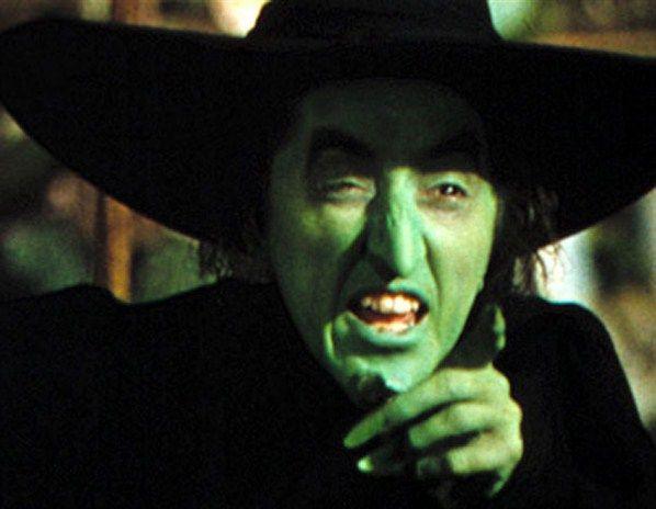 La Bruja Mala Del Oeste Margaret Hamilton En El Mago De Oz The Wizard Of Oz 1939 Mago De Oz Bruja Mala Del Oeste Margaret Hamilton