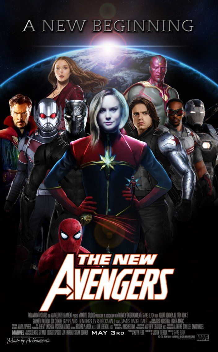 The New Avengers movie poster by https//www.deviantart