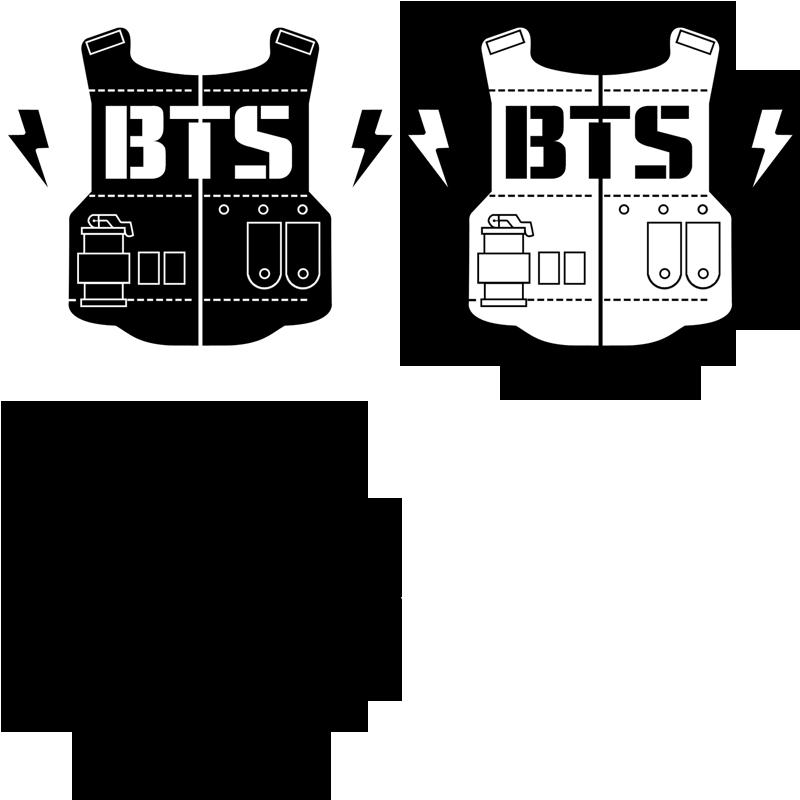 bts logo army Buscar con Google . BTS Fanart