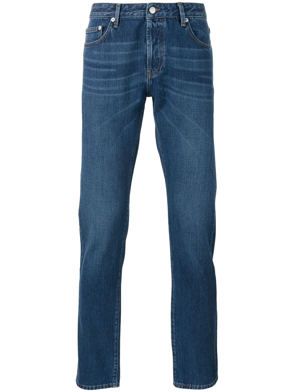 4ed6900da93 Officine Generale tapered jeans - Blue in 2019 | Products | Jeans ...
