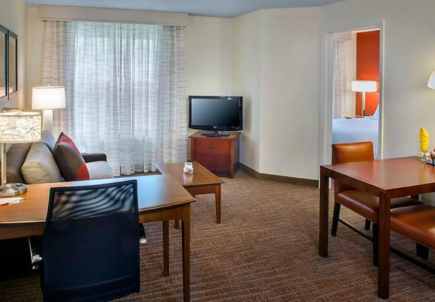 Residence Inn Albany East Greenbush Tech Valley One Bedroom Suite Guest Travel Rooms One Bedroom Bedroom Suite Home Decor