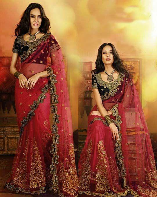 Brides Galleria Red Best Wedding Saree