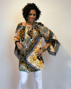 Only one of these beautiful tunics left! Get it today at www.shopcocobella.com #tunic #ivyjane #boutique