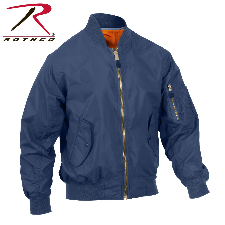 Rothco Lightweight Ma 1 Flight Jacket Leather Flight Jacket Flight Jacket Jackets [ 1500 x 1500 Pixel ]