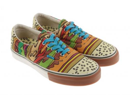 Hamburger Vans! | Vans, Vans shoes
