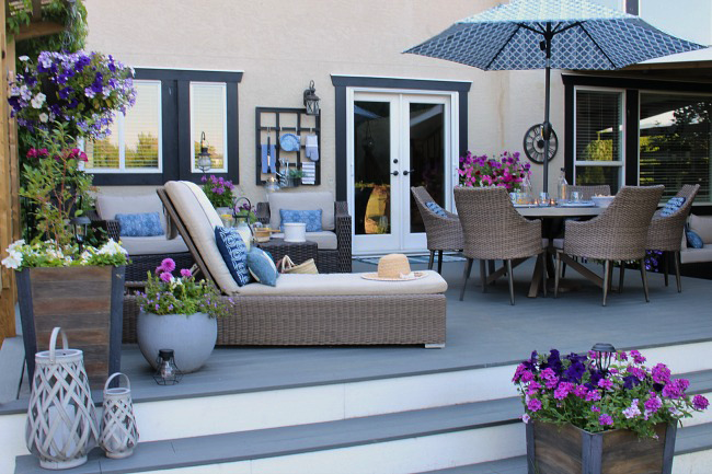 Outdoor Living - Summer Patio Decorating Ideas (With ... on Ab And Outdoor Living id=49006