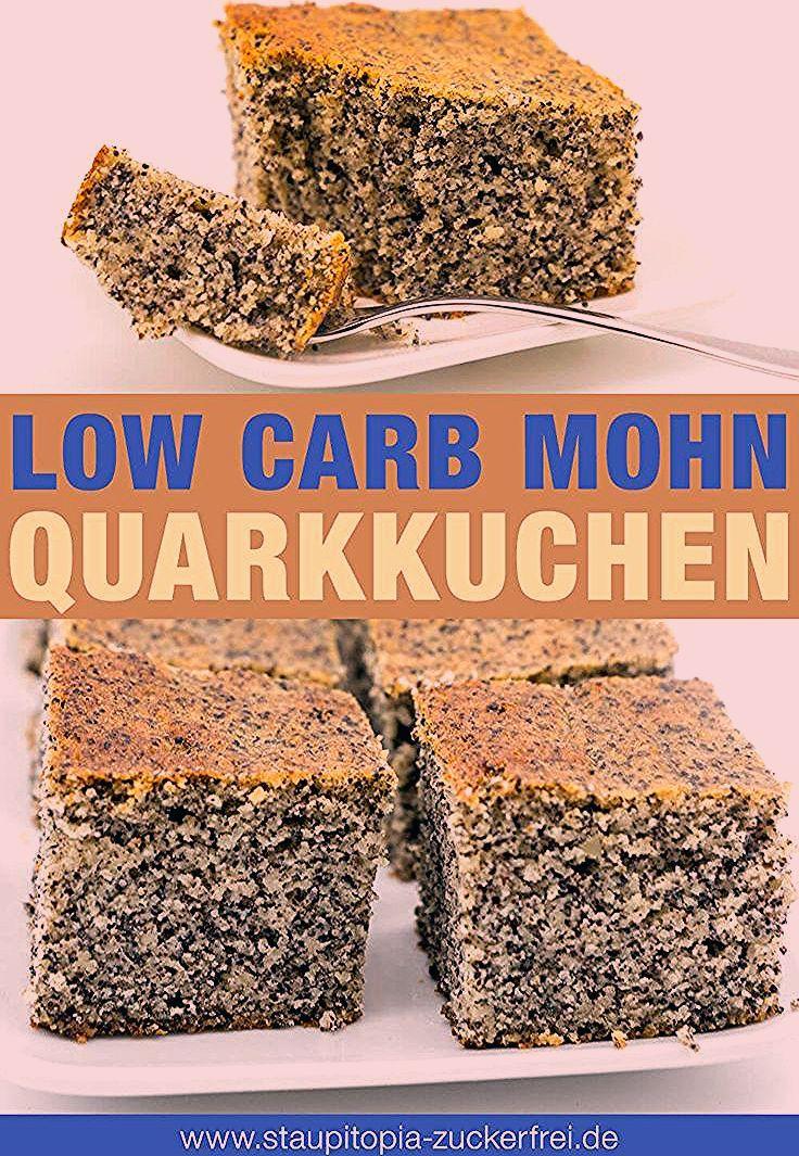 Photo of Low Carb Mohn-Quark-Kuchen