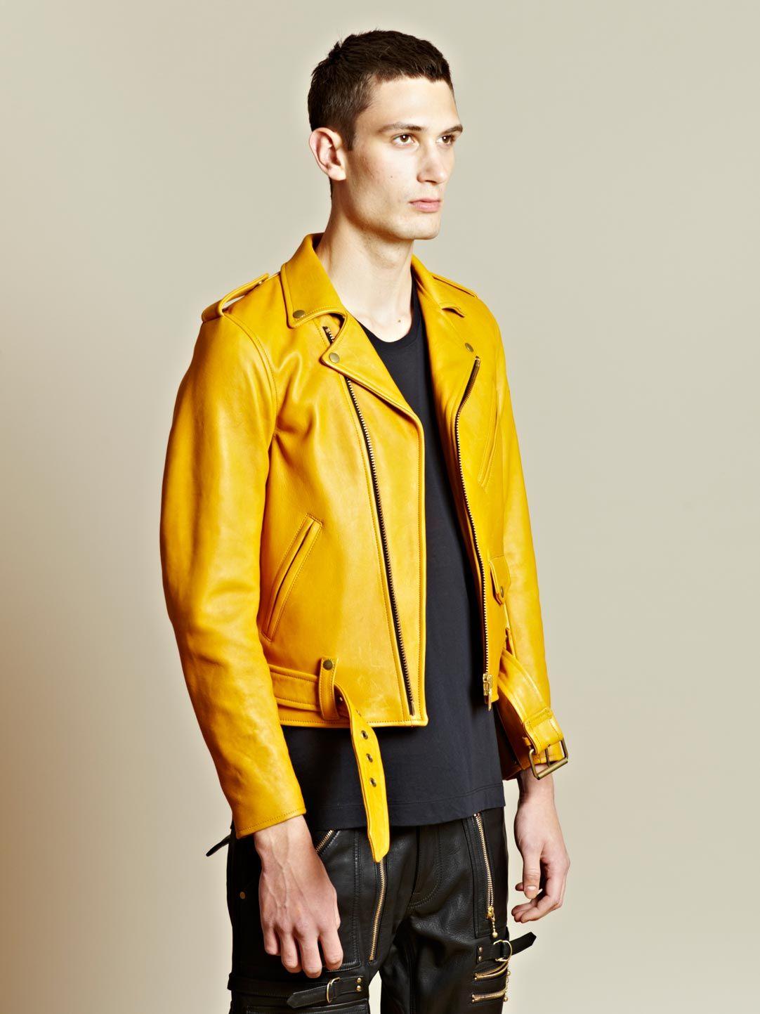 Blackmeans Men's Biker Leather Jacket Leather jacket