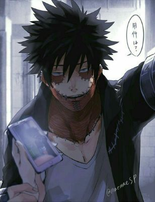 How does Dabi feel about you!?   He'd burn someone for you!