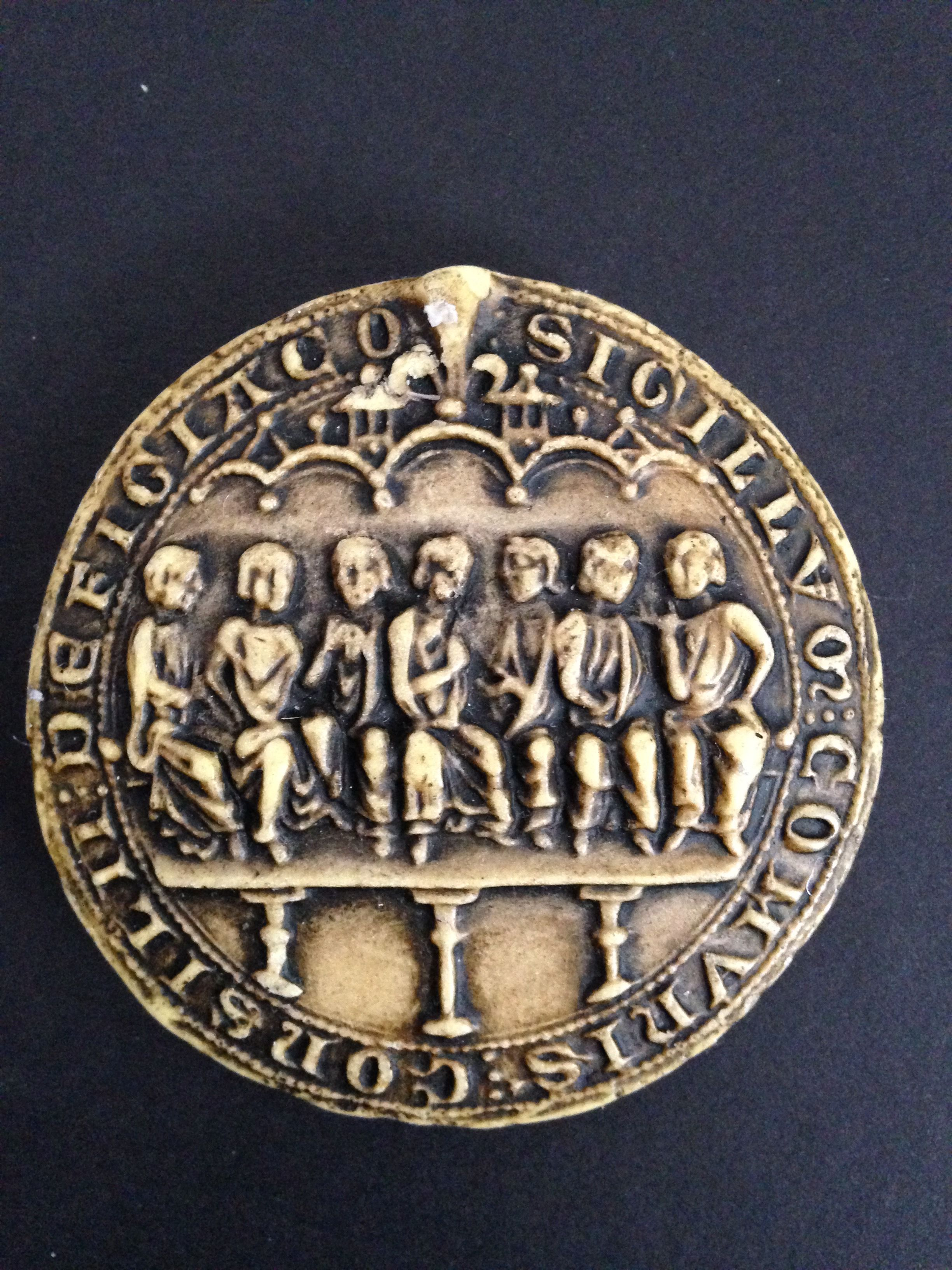 Seal Of The City Of Figeac 13th Century Wax Seals Numismatics Seal
