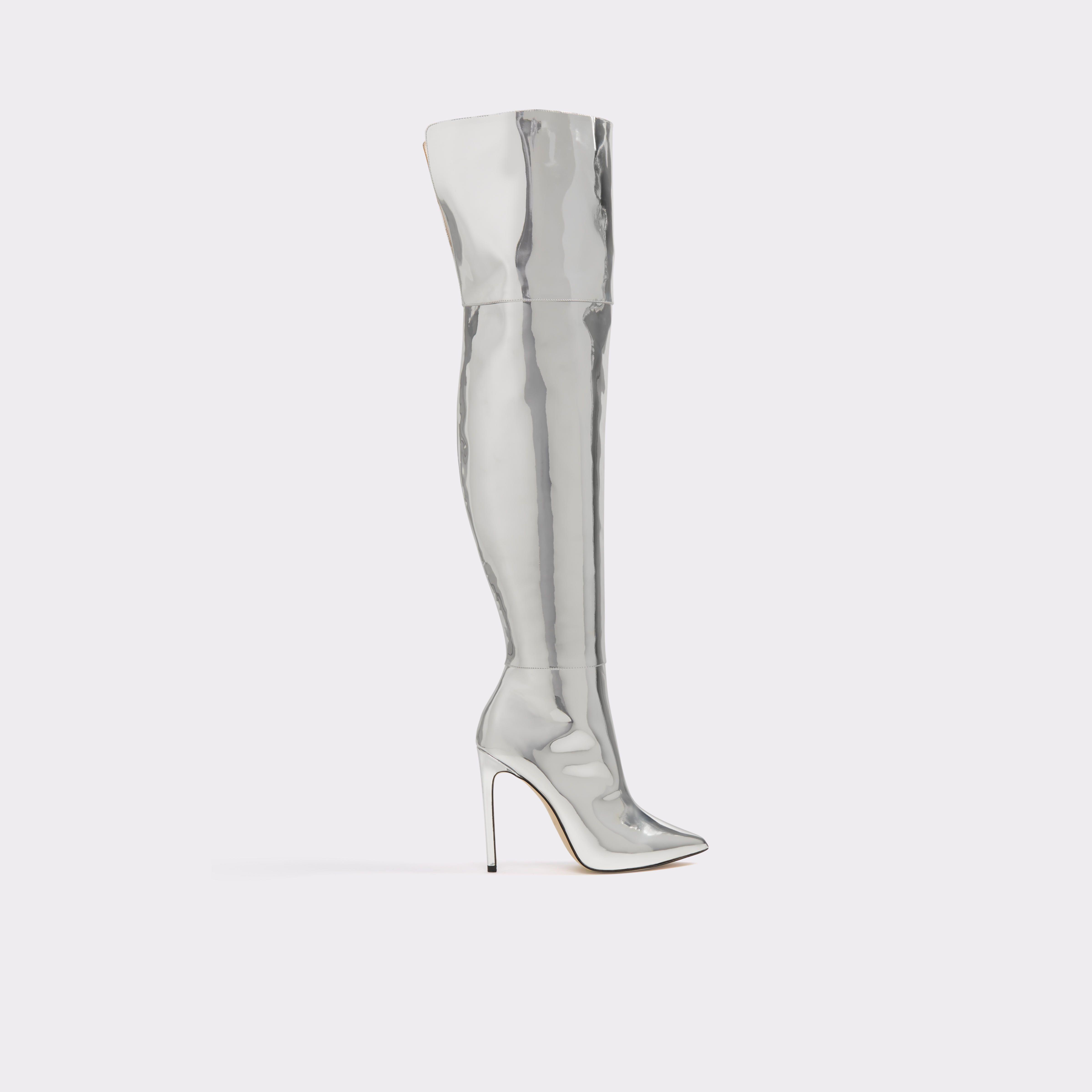 fa19d7fea06 Cherima Silver Women s Boots