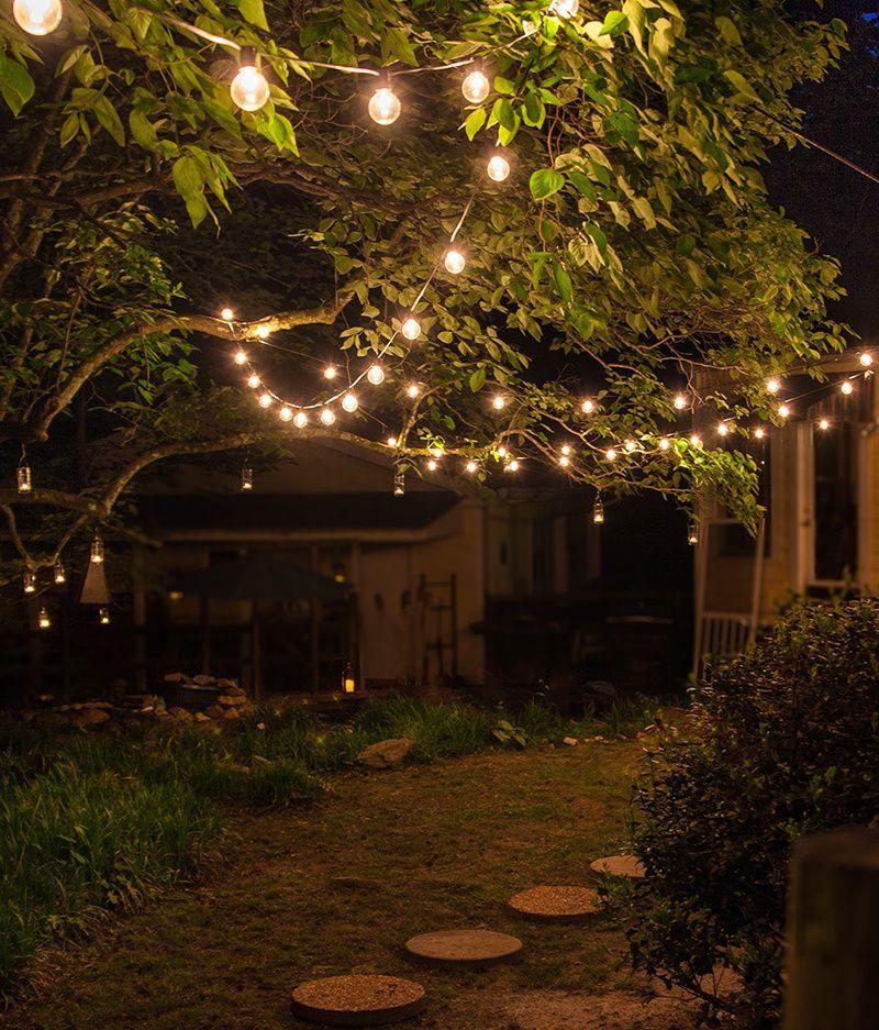 backyard patio walkway lights outdoor
