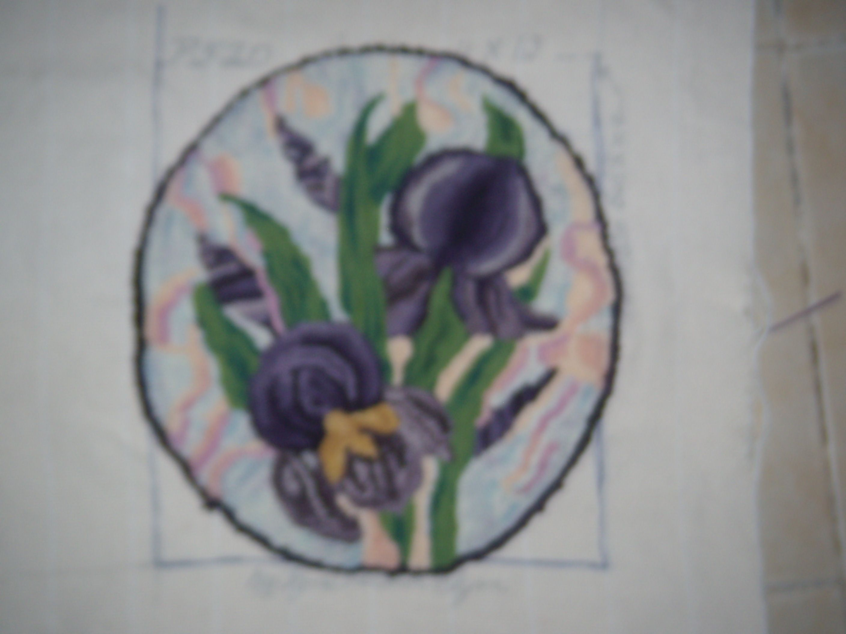 This is my first attempt at shading flowers. It was very challenging for me.