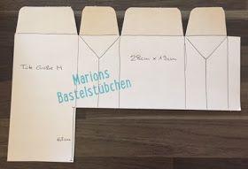 Marions Bastelstübchen: Video-Anleitung: kleiner Schulranzen mit dem Stanz- und Falzbrett für Geschenktüten #konzertkartenverpacken