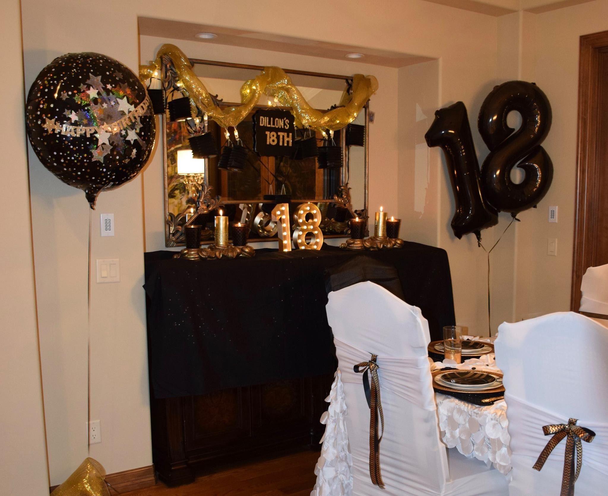 Boy S 18th Birthday 18th Birthday Ideas For Boys 18th Birthday Party Themes Party Themes For Boys