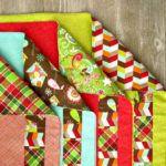 Easy Patchwork Cloth Napkins #clothnapkins