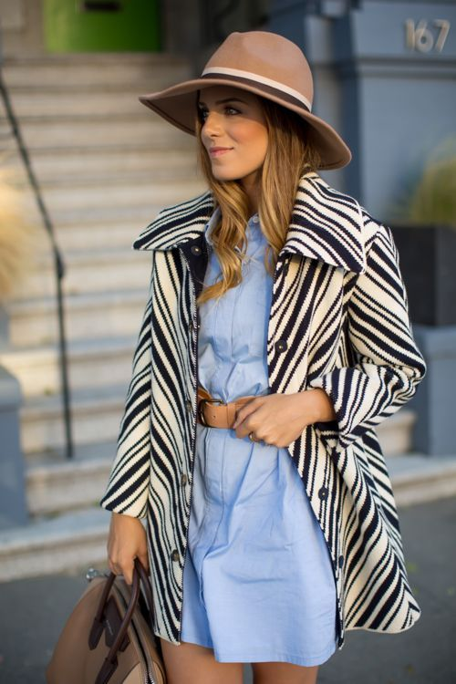 c37534362f65 Tory Burch Chevron Coat (Gal Meets Glam) | Style Loves | Fashion ...