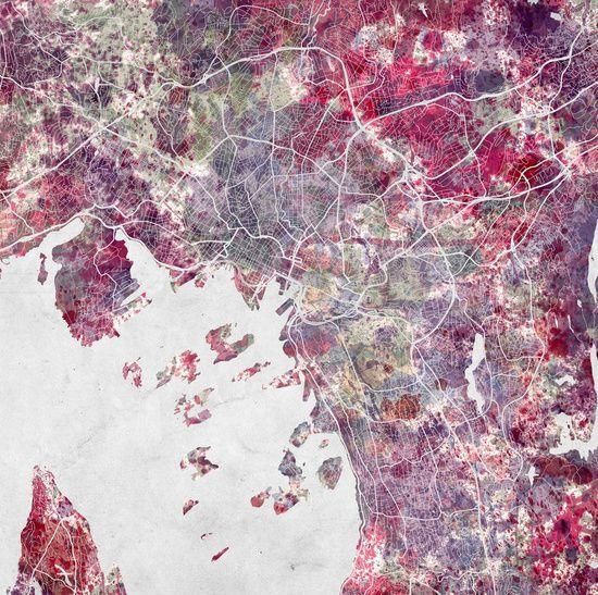 Oslo Map Art Print