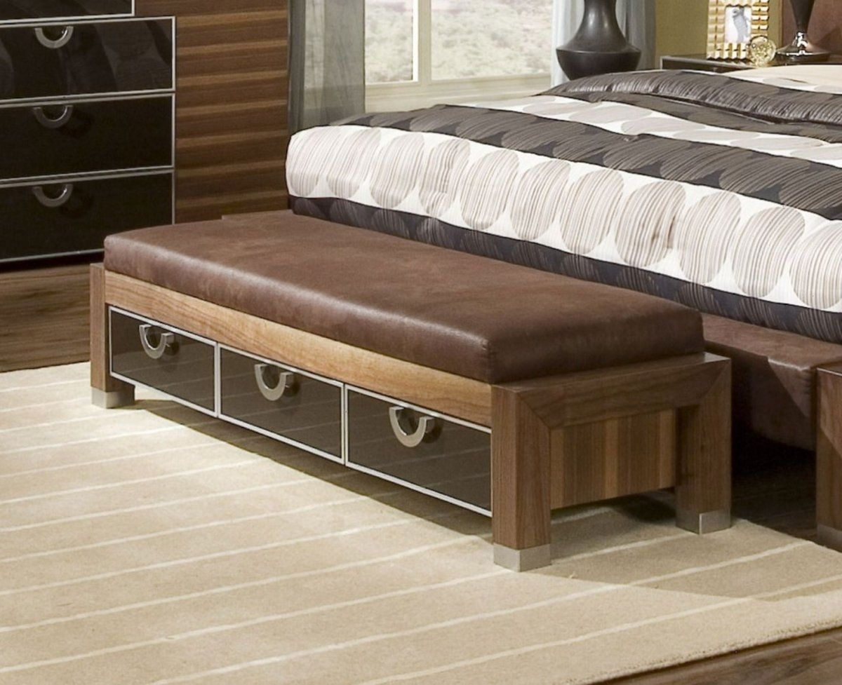 Bedroom Benches With Drawers Storage Bench Bedroom Storage