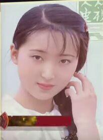 陈晓旭参选《红楼梦》剧组的照片