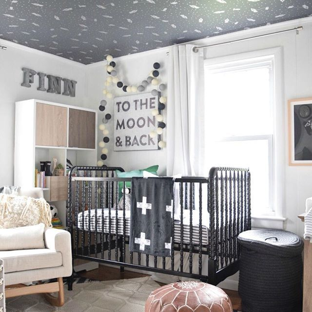 Be Still, My Heart. That CEILING WALLPAPER! Design By