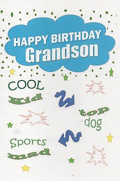 Birthday Cards Male Relation Birthday Cards Grandson Happy