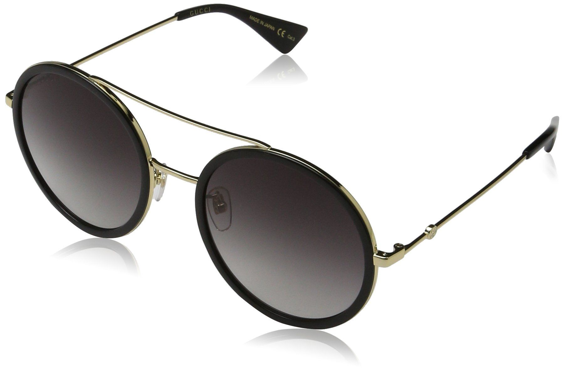 87bc156bbd6 Gucci 0061S 001 Gold 0061S Round Sunglasses Lens Category 3 Size 56mm      You can get additional details at the image link.(It is Amazon affiliate  link)   ...