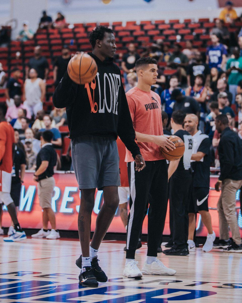Nba Tv On Twitter Bol Bol And Michael Porter Jr Taking In The is ...