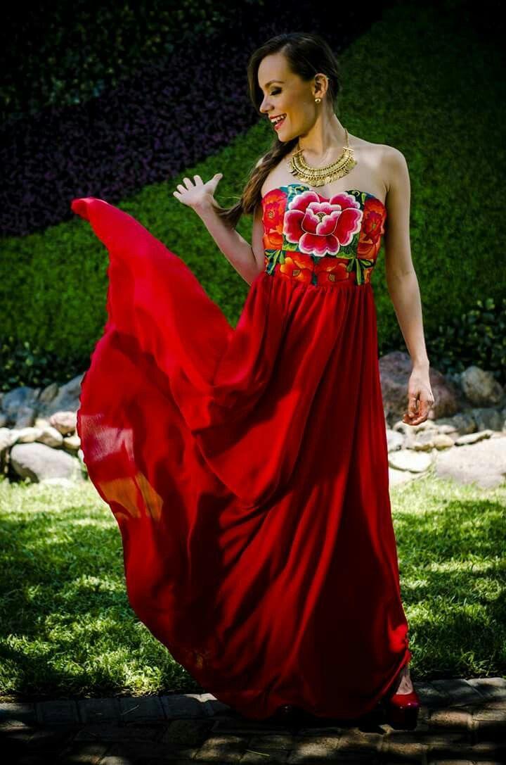 Vestidos de noche marcas mexicanas
