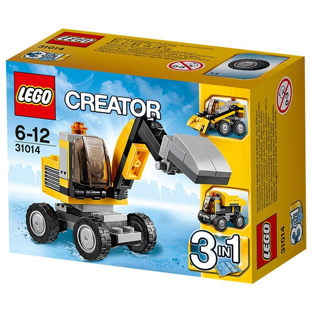 Pin lego 60032 city the lego summer wave in official images on - Lego Creator 31014 Power Digger Amazon Co Uk Toys Games