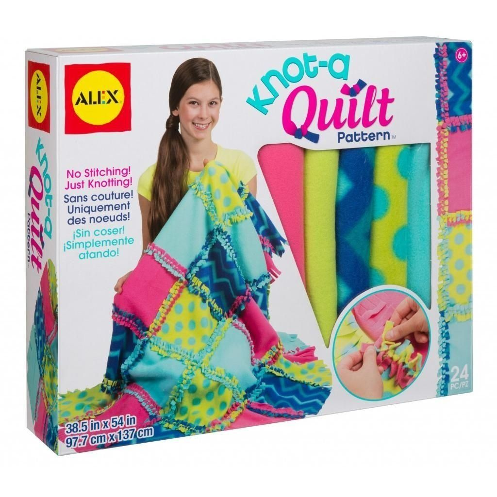 ALEX Toys Craft KnotAQuilt Pattern Kit Toys