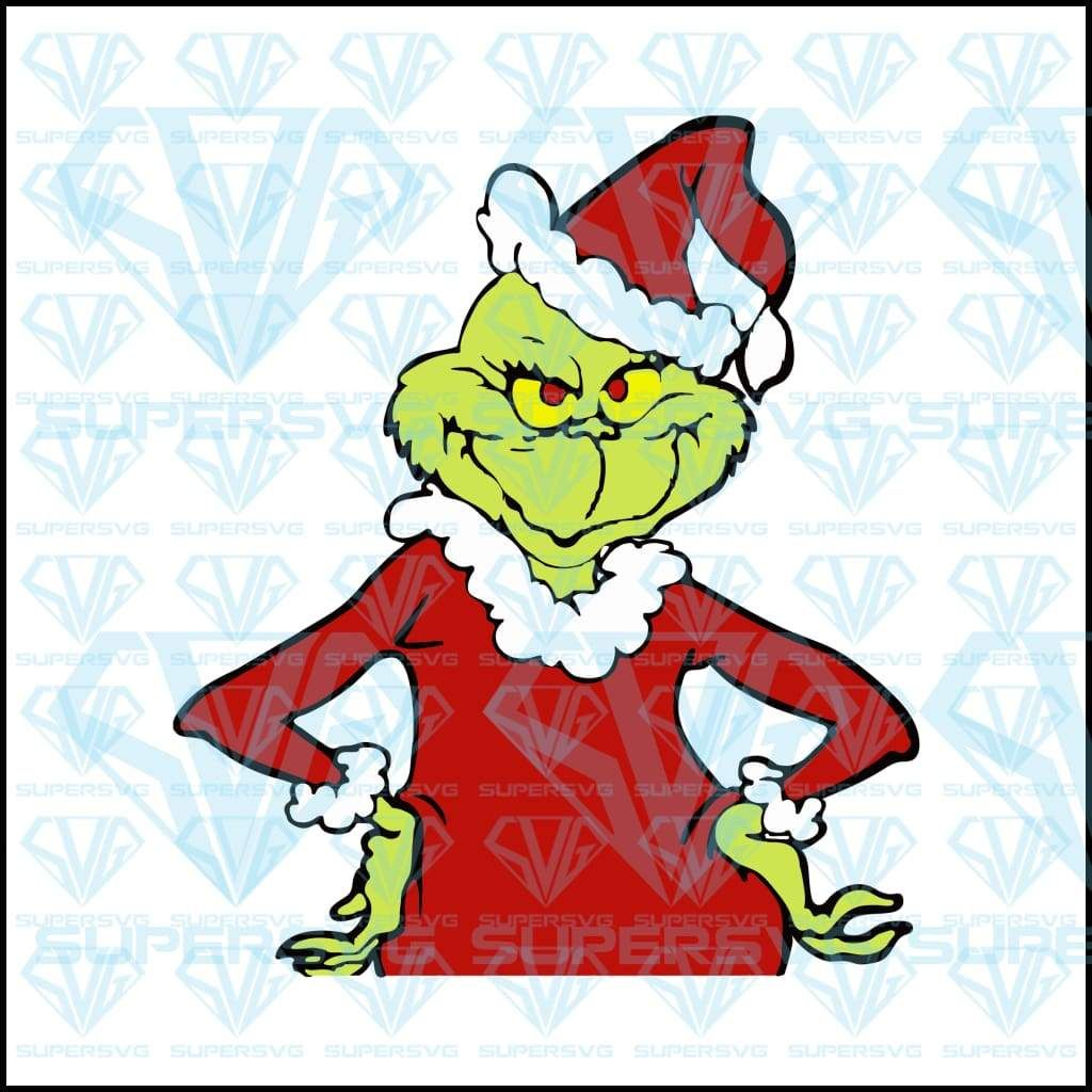 Grinch Who Stole Christmas SVG Files For Silhouette, Files