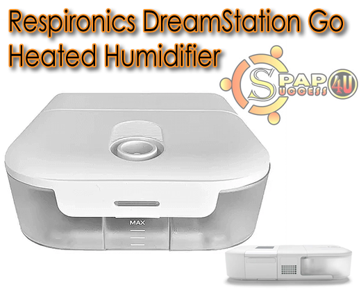 Respironics Dreamstation Go Heated Humidifier Cpap Success 4u In 2020 Humidifier Cpap Card Supplies