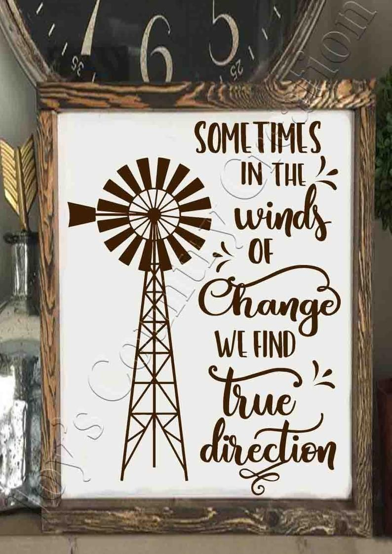 Sometimes in the winds of change, Windmill,Country svg