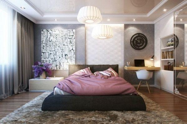 Kleines Schlafzimmer modern gestalten – Designer Lösungen