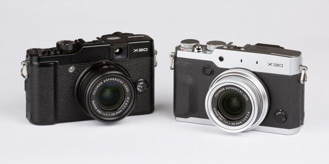 Comparativa: Fuji X20 vs X30