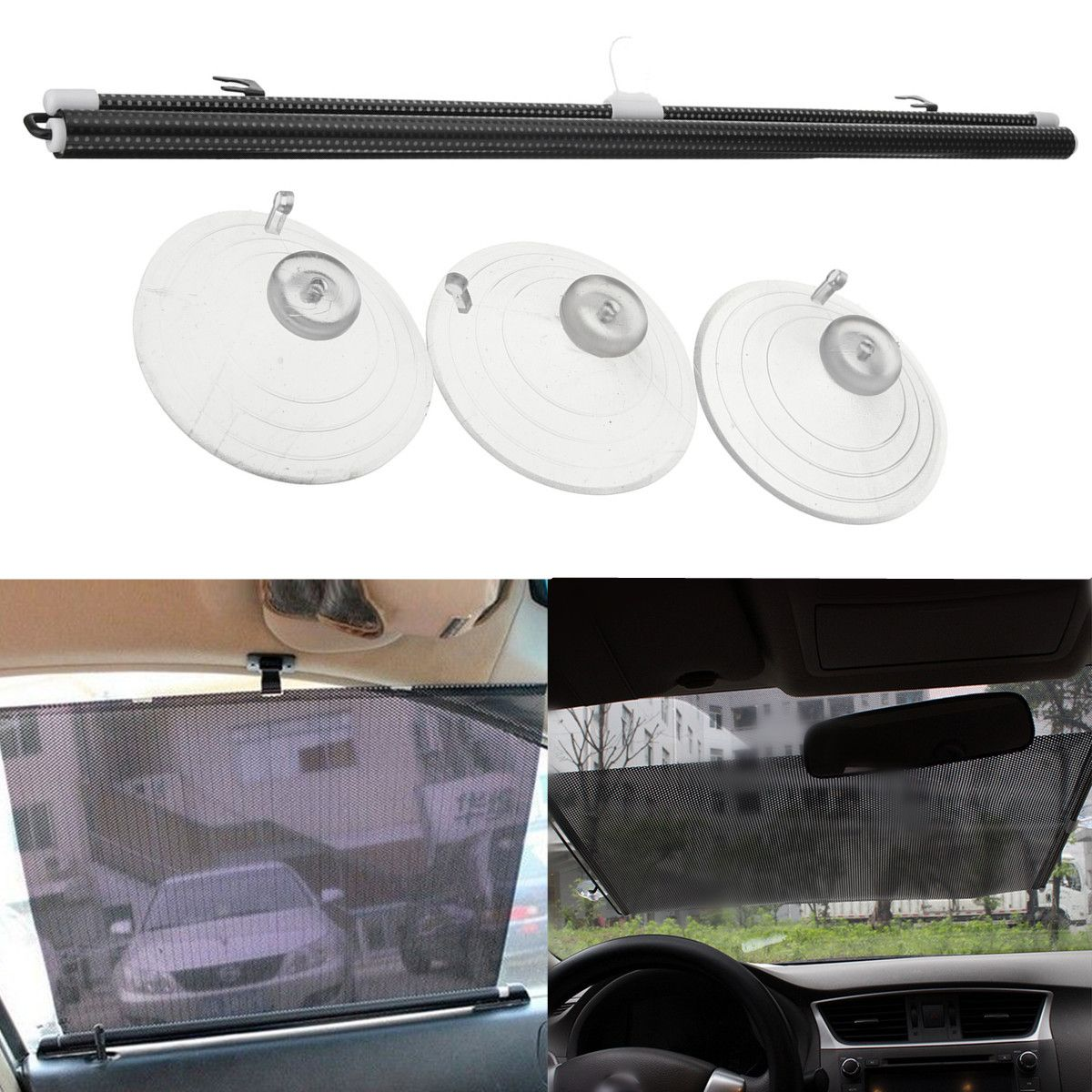 Car Sun Visors Foldable SunShade Shield Visor UV Block For BUICK