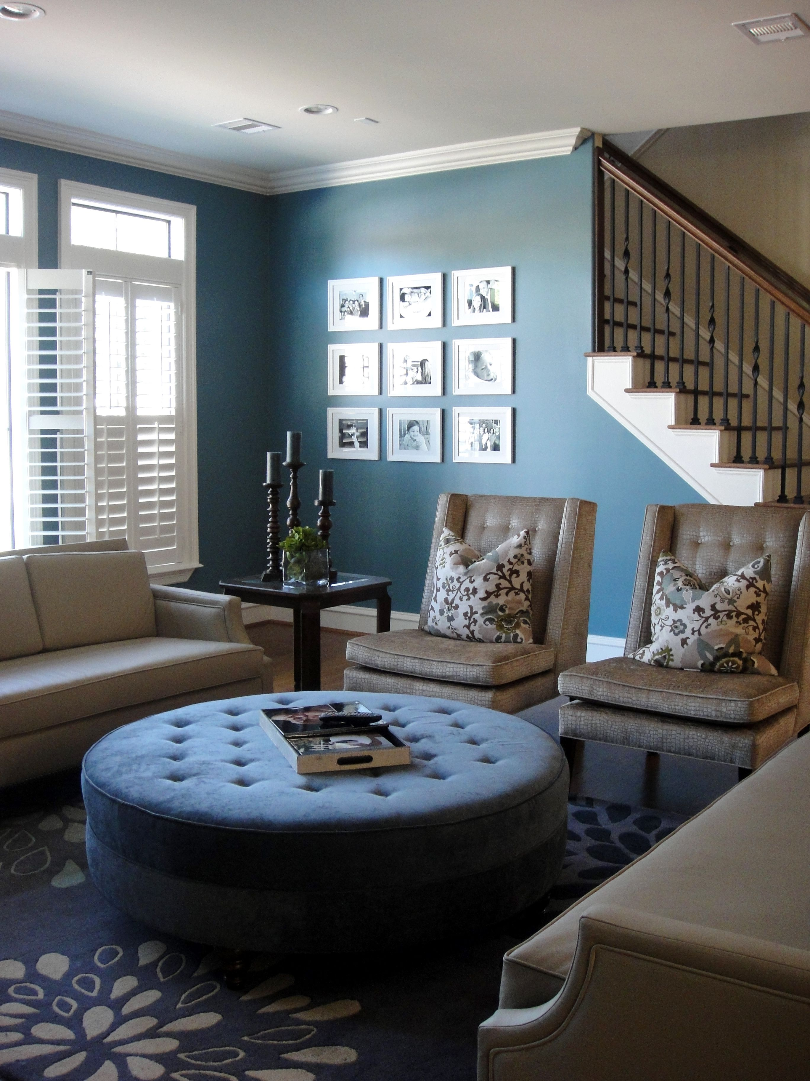Strange Triple L Designs Love The Large Ottoman In The Middle Of Squirreltailoven Fun Painted Chair Ideas Images Squirreltailovenorg
