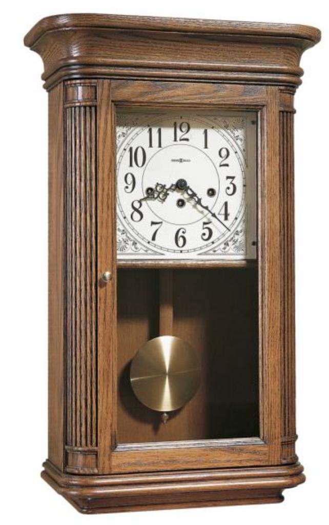 Howard Miller Chiming Keywound Wall Clock Chm1556 Theclockfather Howard Miller Wall Clock Wall Clock Oak Chiming Wall Clocks