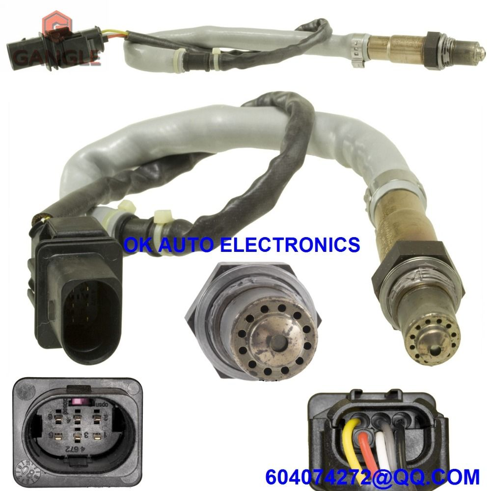 Oxygen Sensor Lambda O2 Air Fuel Ratio For Audi A3 Tt 2006 Vw Passat Ac Wiring Volkswagen Eos Gti