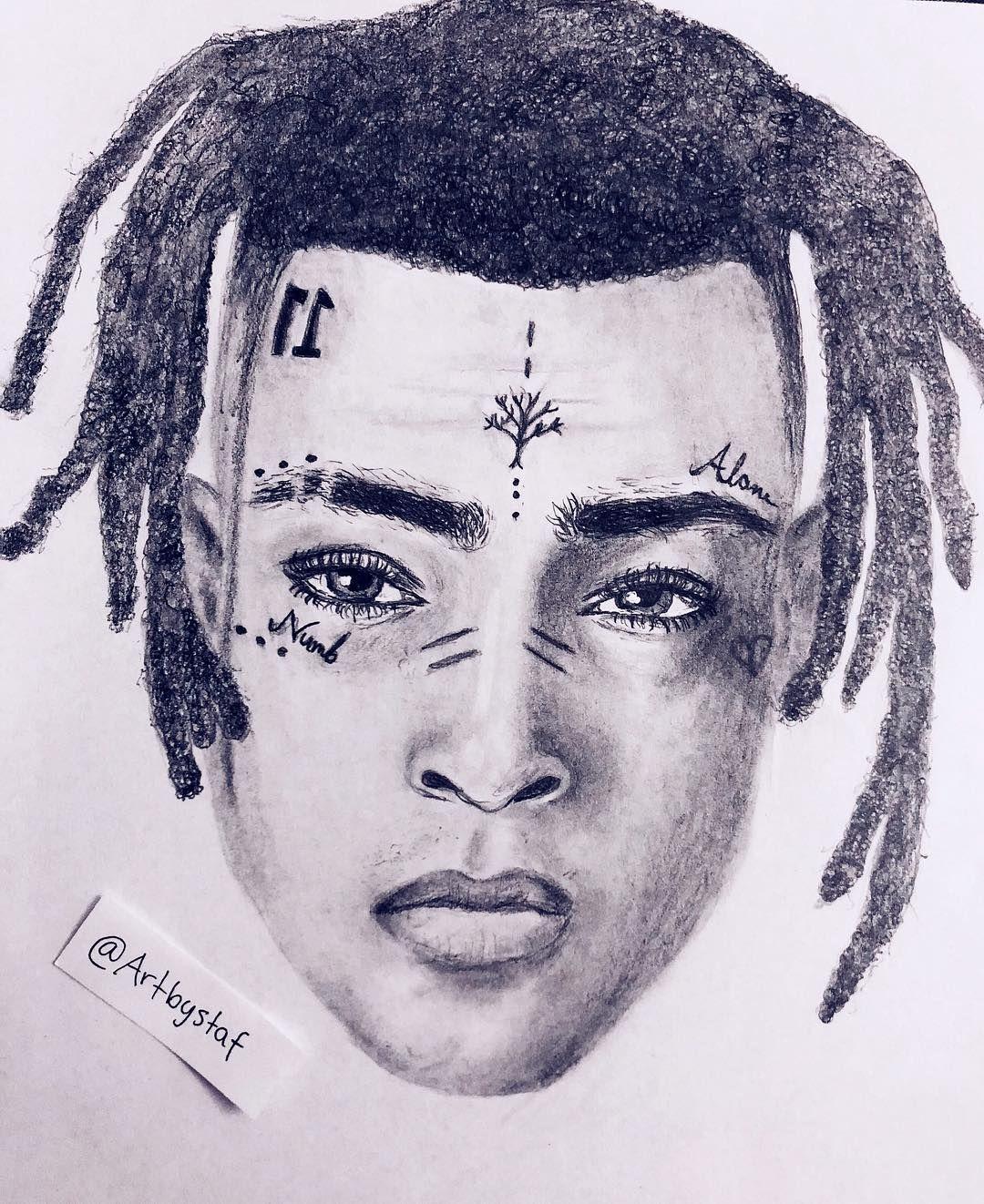Drawing Xxxtentacion: @xxxtentacion XXXTENTACION. Rest In Peace.