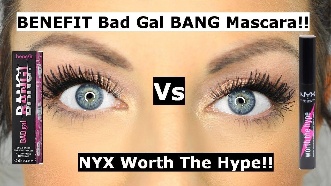 f39ced4b100 Benefit bad gal bang mascara Vs NYX worth the hype mascara | Is it a DUPE?  Hi lovelies, Benefit bad gal bang mascara Vs NYX worth the hype mascara.