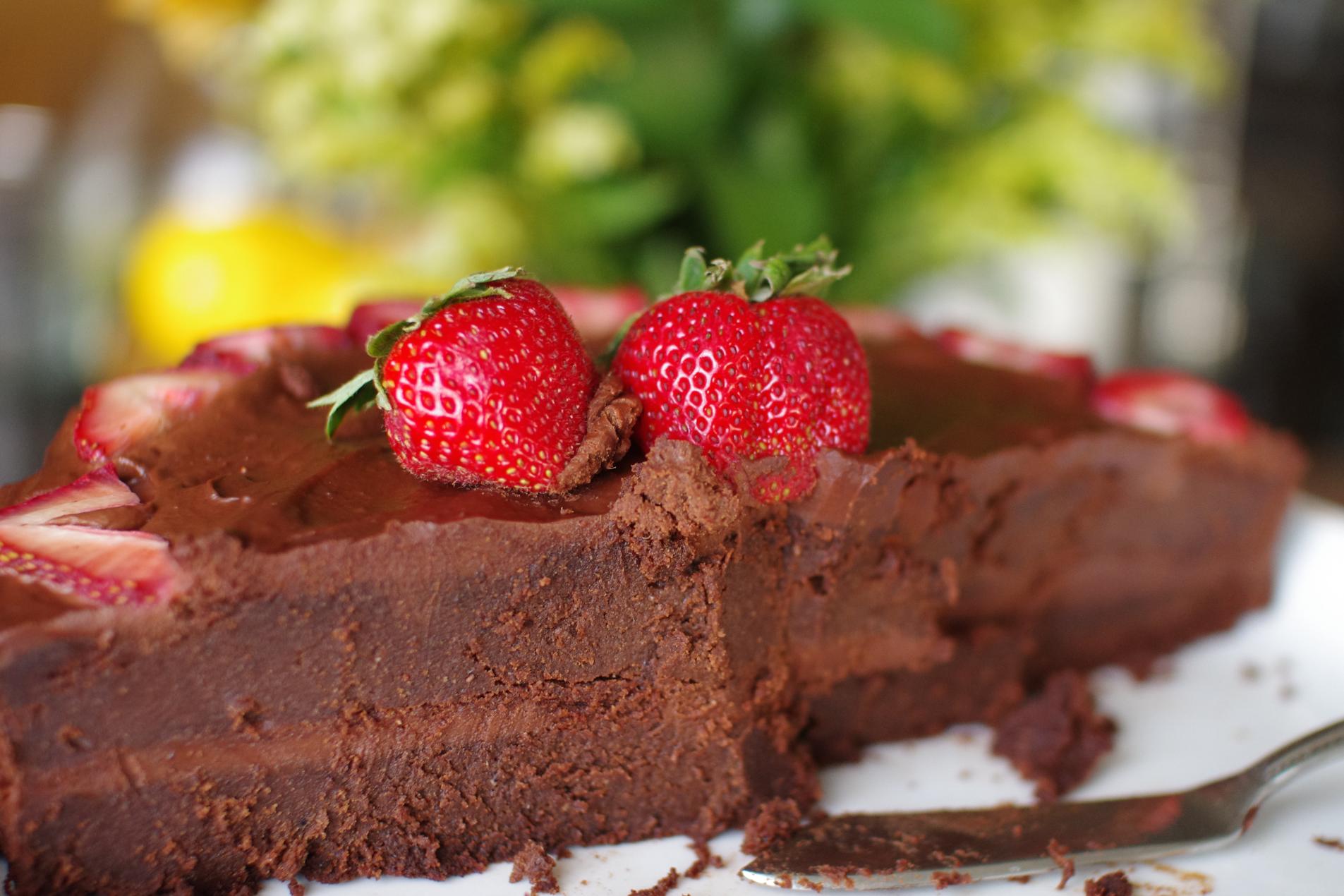 Nigella Lawson's Guinness Chocolate Cake Paleo Option