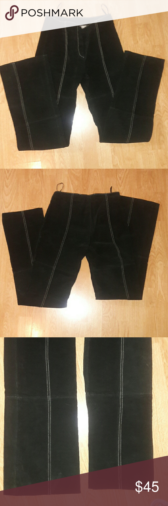 Wilson Leather Maxima genuine leather suede pants Wilson