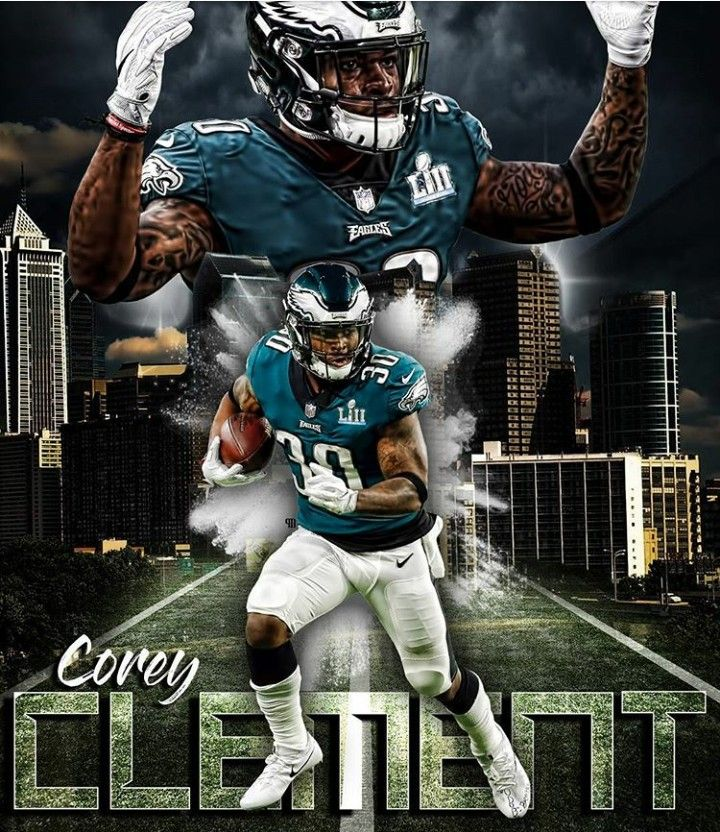 688fddbda59 COREY CLEMENT | Super Bowl Champions | Philadelphia eagles football ...