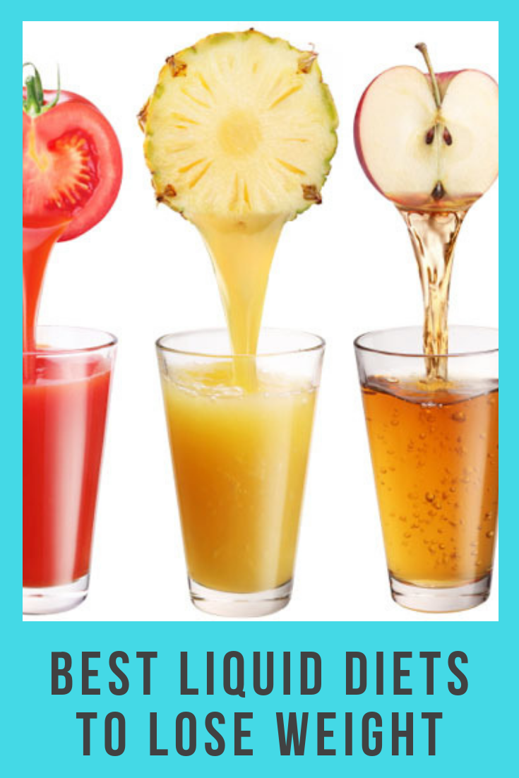 what to drink during a liquid diet