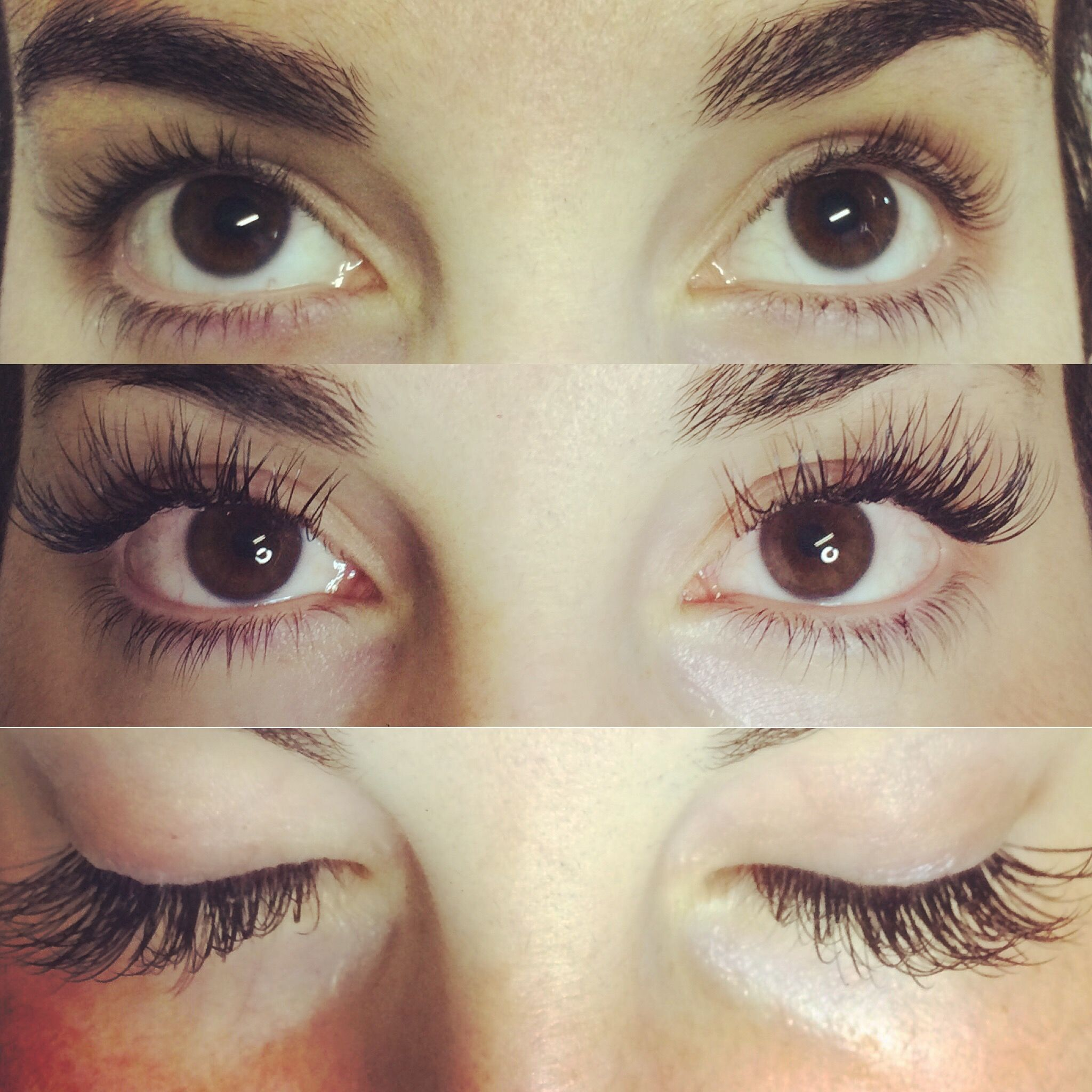 cb0cb94c011 Before and after Bella Lash eyelash Extensions by Margarita Style ...