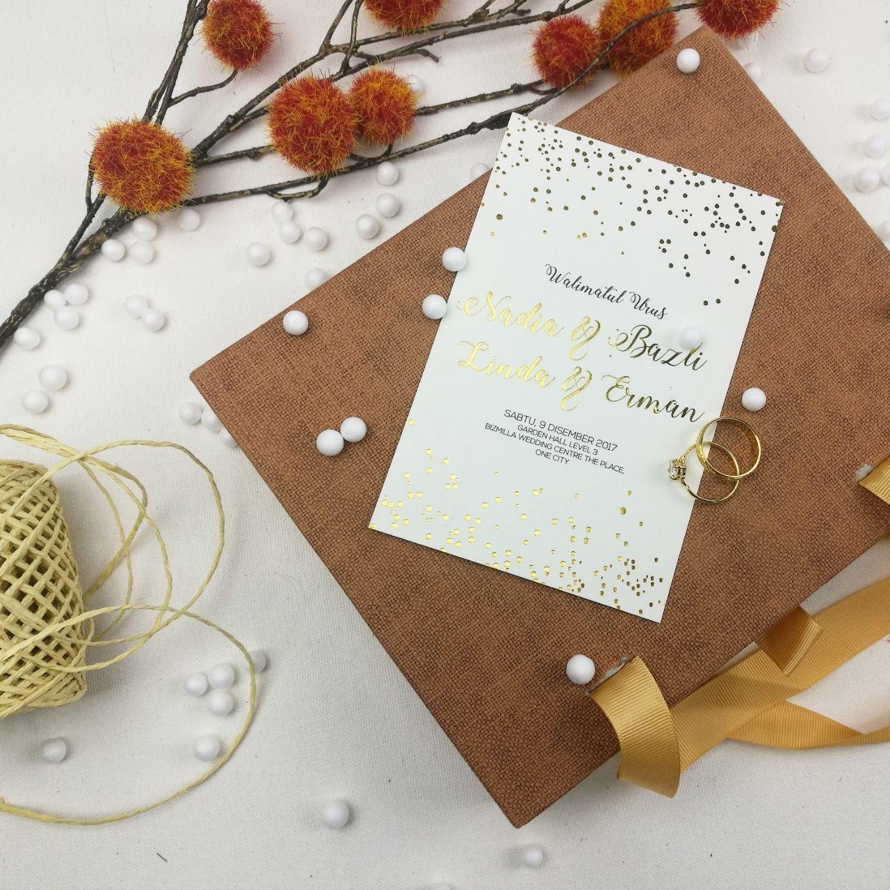 kad kahwin klasik | kad kahwin floral | kad kahwin design | kad ...